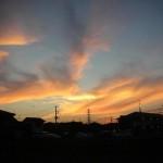 20100807夕焼け
