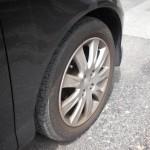 車タイヤ交換 Before