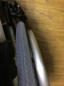 車椅子タイヤ交換20161221 2