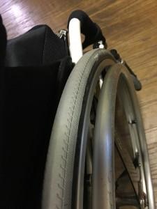車椅子タイヤ交換@20171221 2 (2)